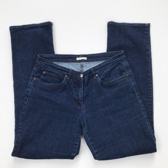 Eileen Fisher Denim - eileen fisher straight leg high rise denim jeans